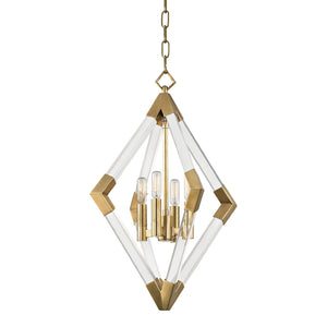 Lyons Small Pendant by Hudson Valley