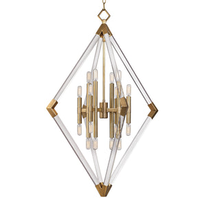 Lyons Large Pendant by Hudson Valley