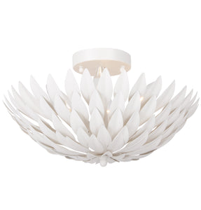 Broche Four Light Ceiling Mount by Crystorama