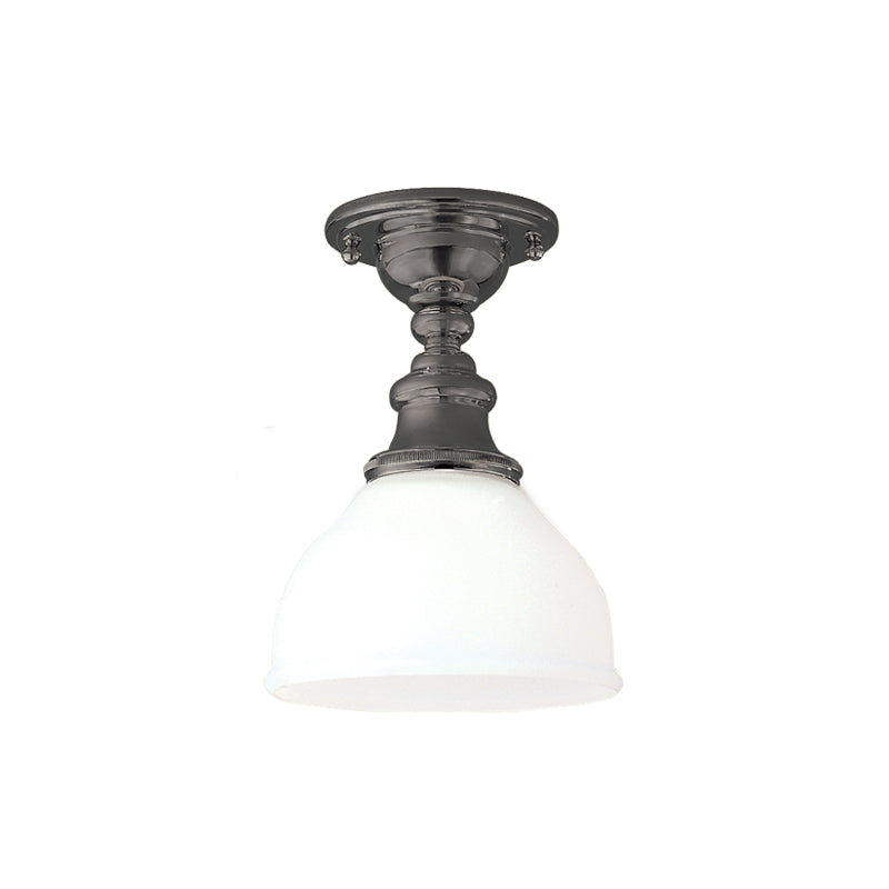 Sutton One Light Semi-Flush Mount by Hudson Valley