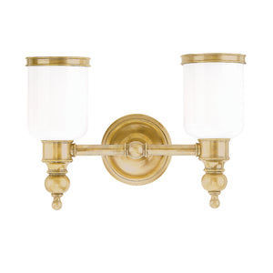 Chatham Two Light Bath Sconce by Hudson Valley