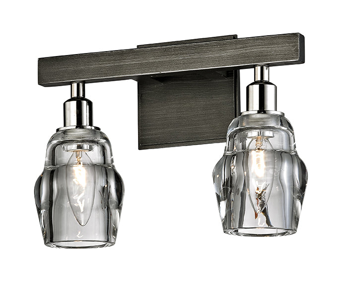 Citizen Two Light Bath Sconce by Troy Lighting