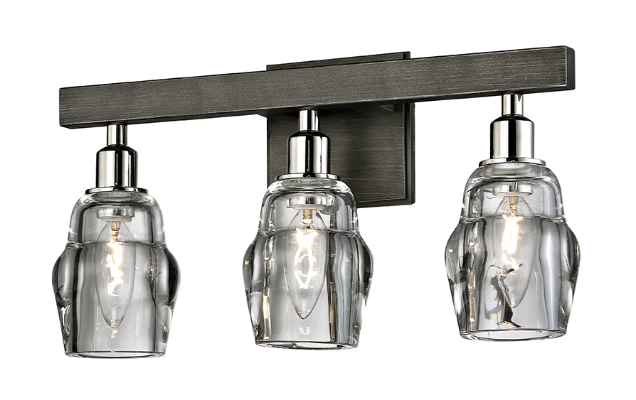 Citizen Three Light Bath Sconce by Troy Lighting