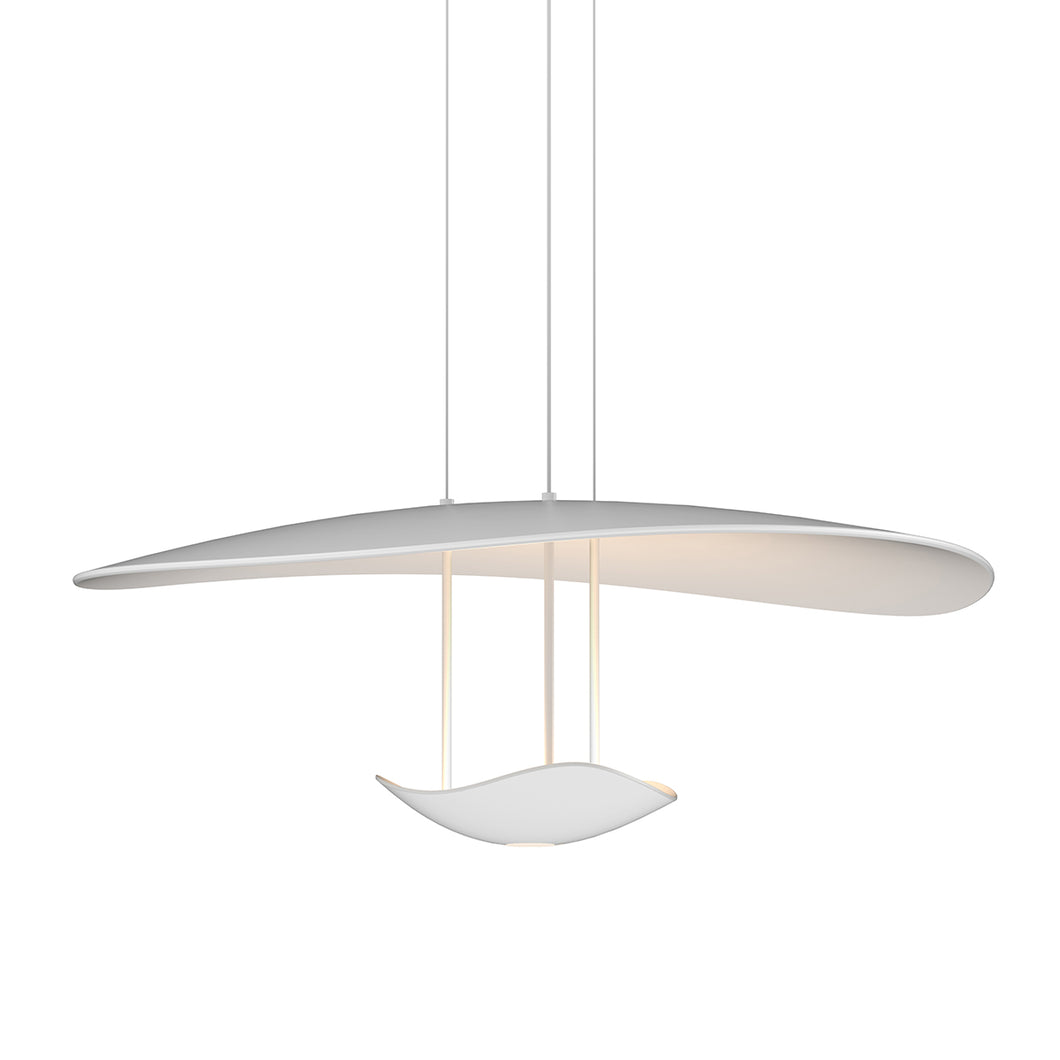 Infinity Reflections LED Pendant with Downlight by Sonneman
