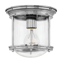 Hinkley - 3300CM-CL - One Light Flush Mount - Hadley - Chrome with Clear
