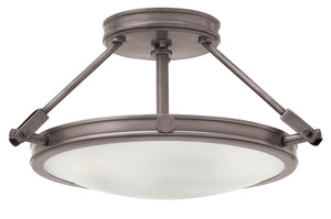 Collier Small Semi-Flush Mount by Hinkley