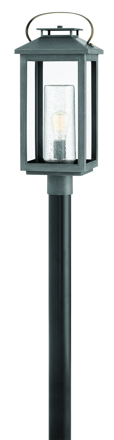 Atwater One Light Post Top/ Pier Mount by Hinkley