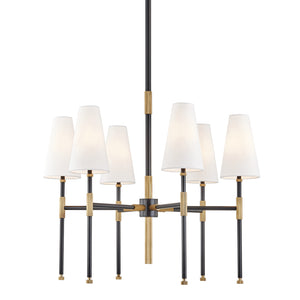 Bowery Six Light Chandelier by Hudson Valley
