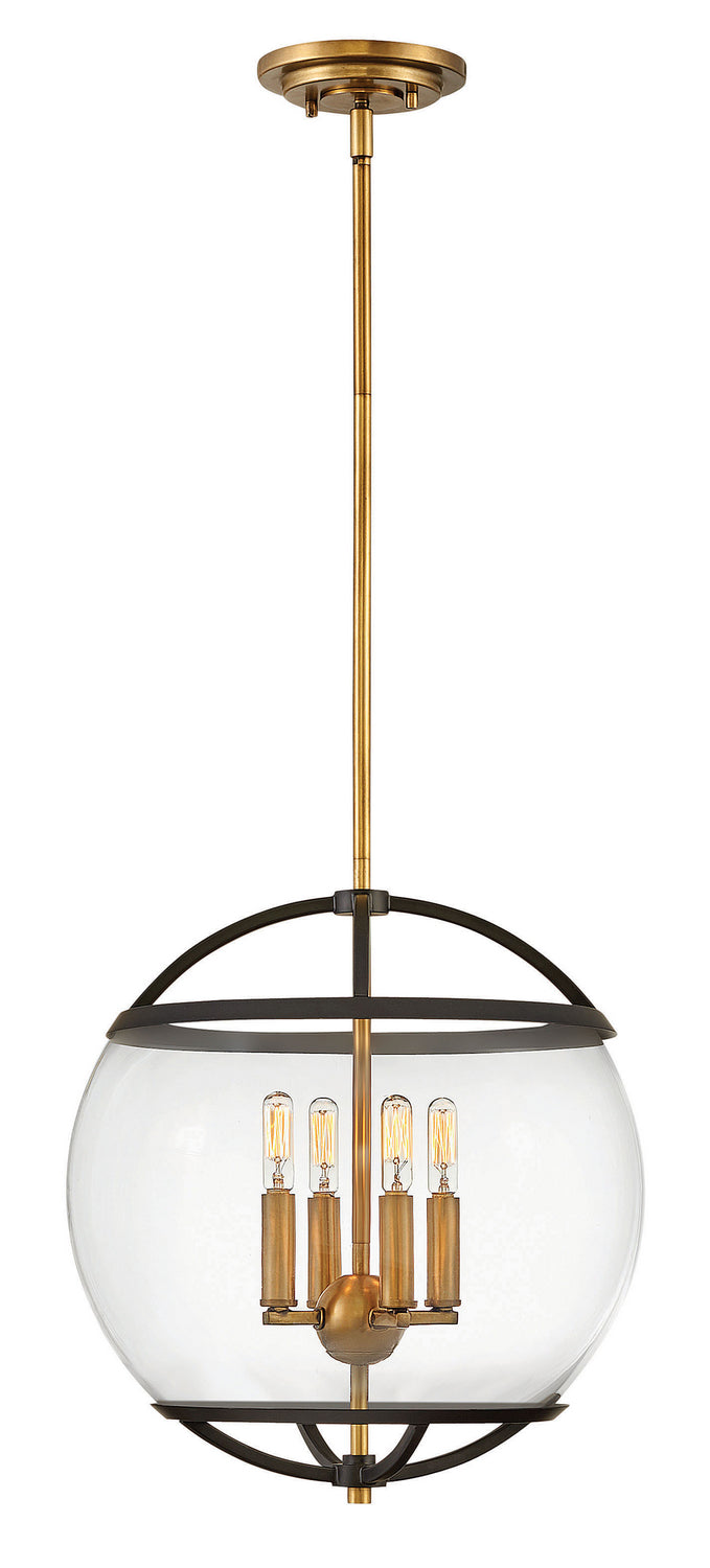 Calvin Four Light Chandelier by Hinkley