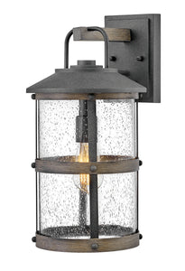 Lakehouse One Light Outdoor Wall Mount by Hinkley