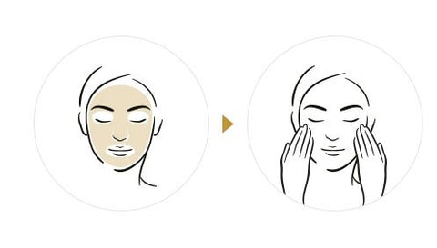 How to use Korean skin care cellulose mask