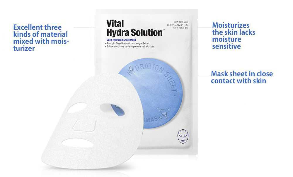 Dr.Jart+ Dermask Vital Hydra Solution Deep Hydration Sheet Mask hookskorea