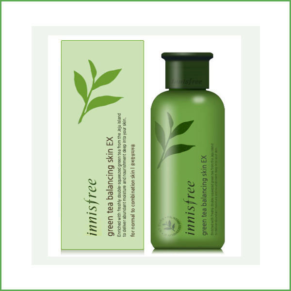 Innisfree Green Tea Balancing Skin Ex 200ml HooksKorea1