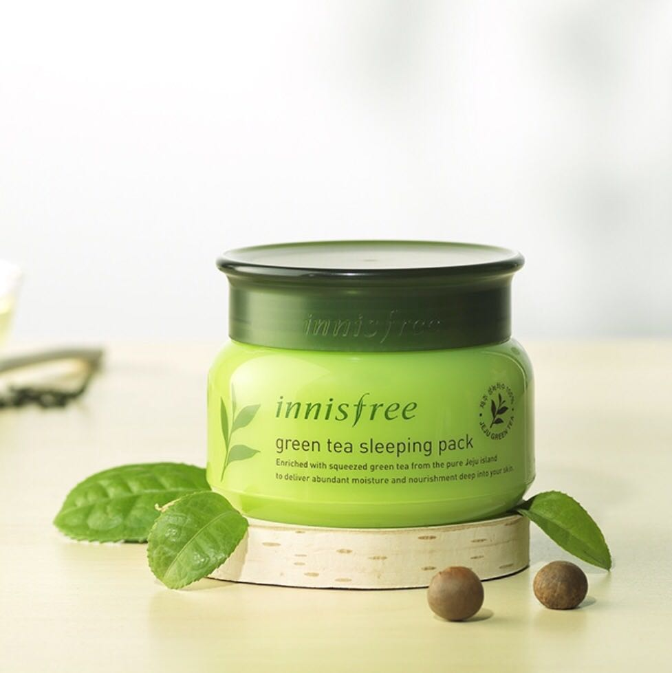 Innisfree Green Tea sleeping Mask HooksKorea 1