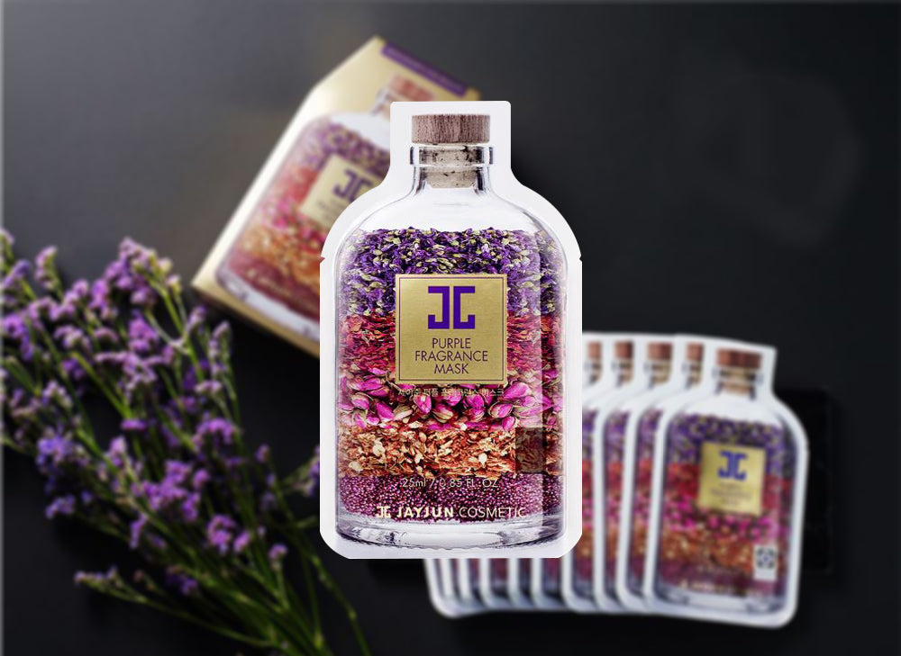 JayJun Purple Fragrance Mask hookskorea