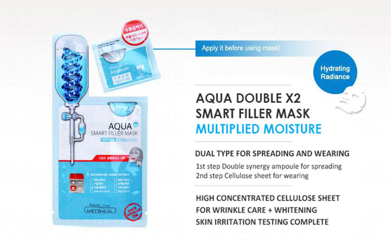 Mediheal 2 Step Aqua Double Smart Mask hookskorea