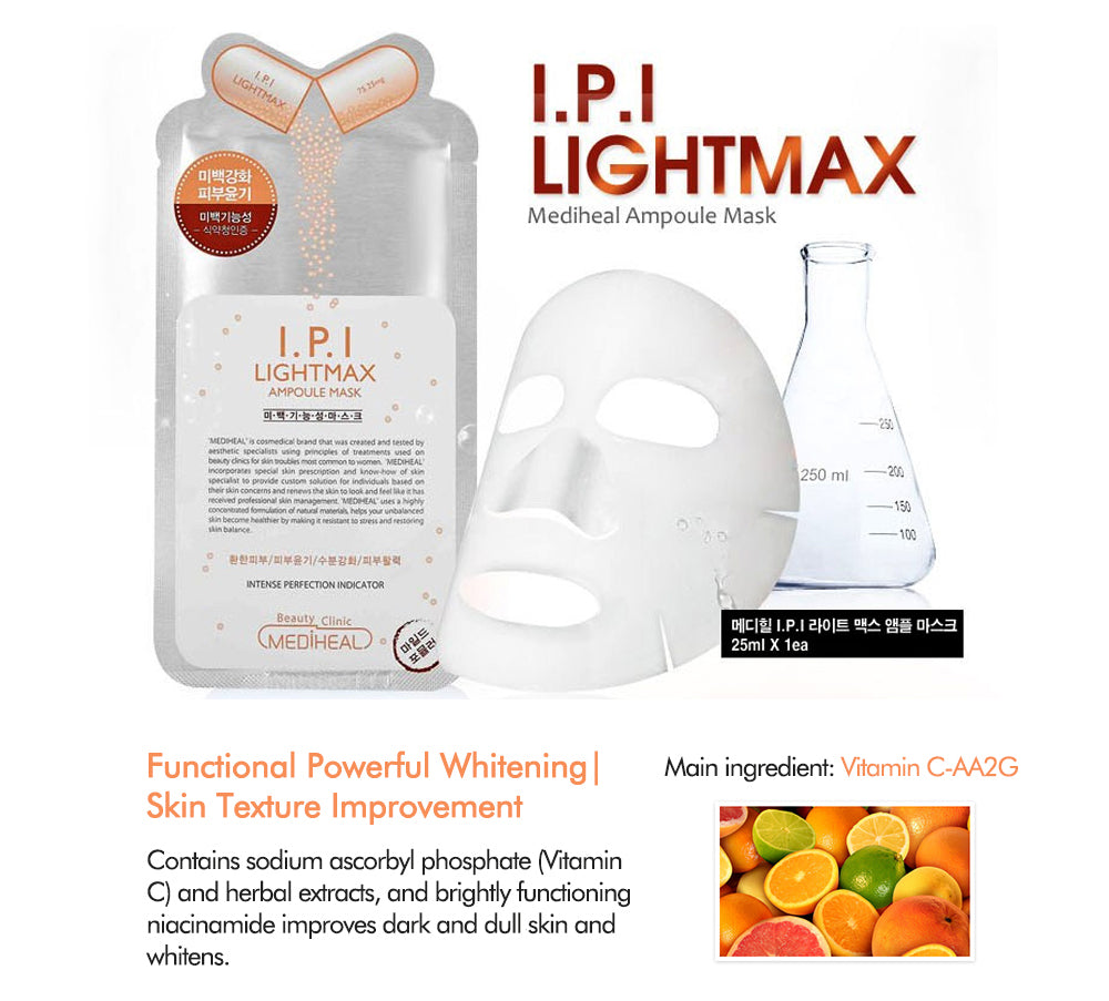 Mediheal I P I Lightmax Ampoule Mask EX(1 sheet)