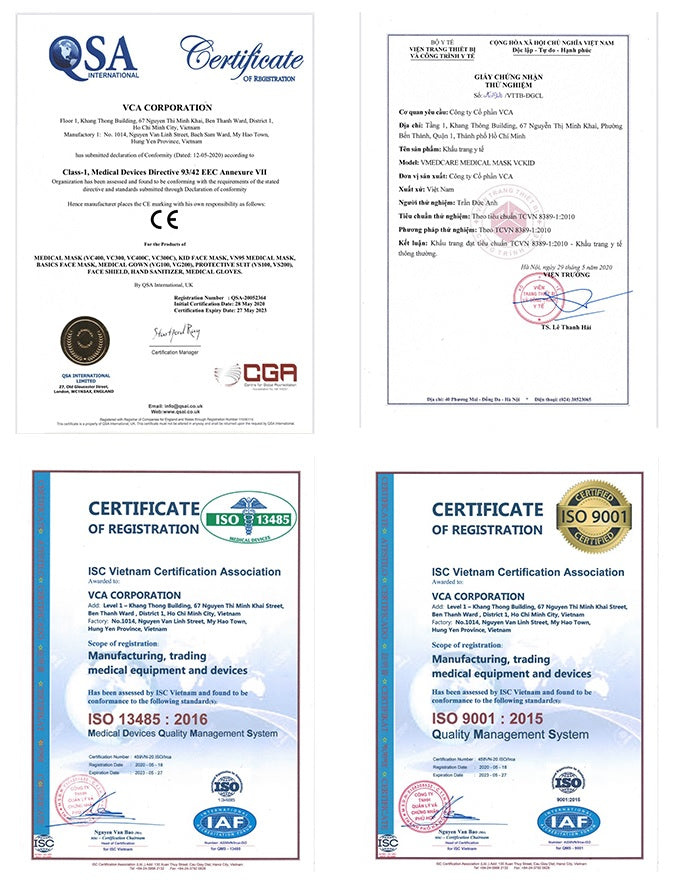 CE, ISO, certification