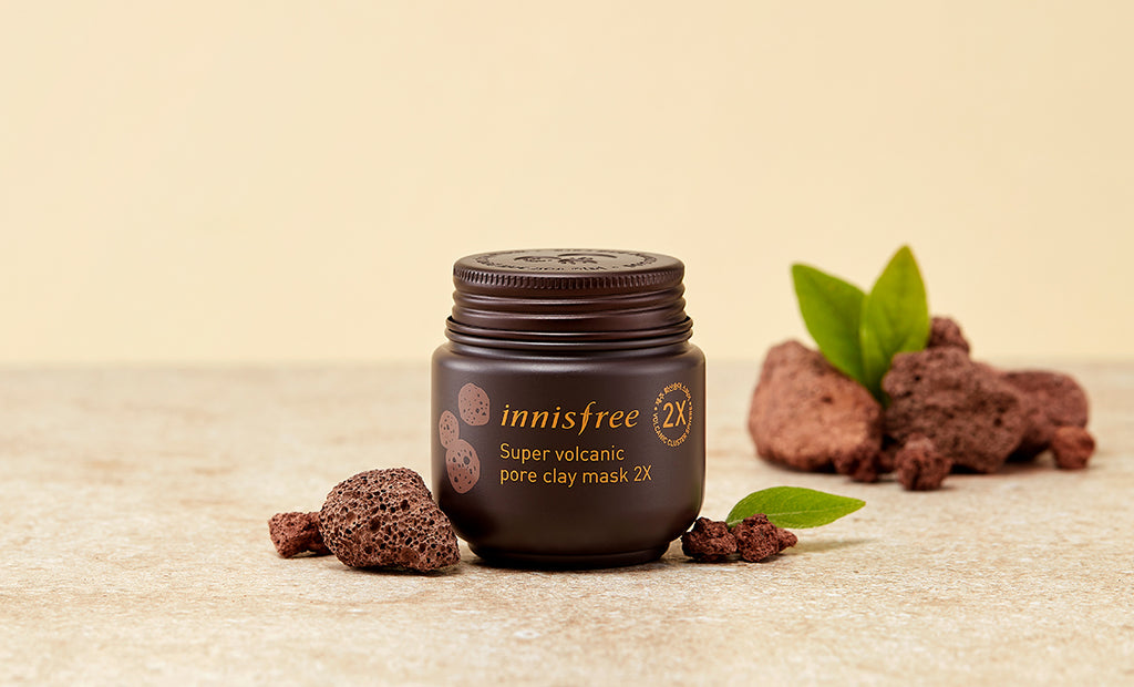 innisfree Super Volcanic Pore Clay Mask 2X HooksKorea