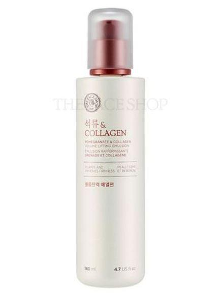 TheFaceShop Pomegranate And Collagen Volume Lifting Emulsion(140ml), SkinCare, THE FACE SHOP, www.hookskorea.com - www.hookskorea.com