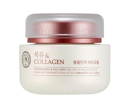 TheFaceShop Pomegranate And Collagen Volume Lifting Eye Cream(50ml), SkinCare, THE FACE SHOP, www.hookskorea.com - www.hookskorea.com