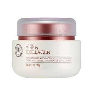 TheFaceShop Pomegranate & Collagen Volume Lifting Cream(100ml), SkinCare, THE FACE SHOP, www.hookskorea.com - www.hookskorea.com