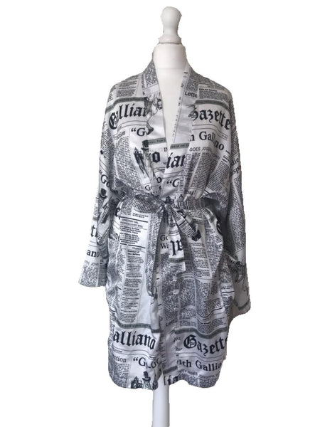 JOHN GALLIANO - GAZETTE PRINT ROBE