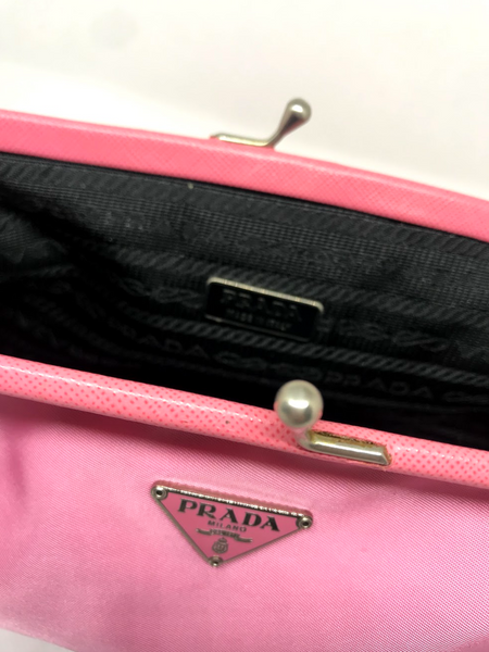 PRADA - PINK MINI BOW BAG