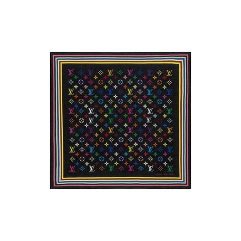 LOUIS VUITTON - MURAKAMI MULTICOLOR BANDANA 55
