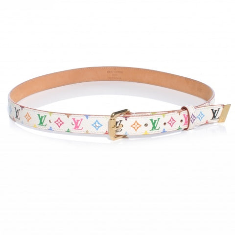 LOUIS VUITTON - MURAKAMI MONOGRAM SLIM BELT