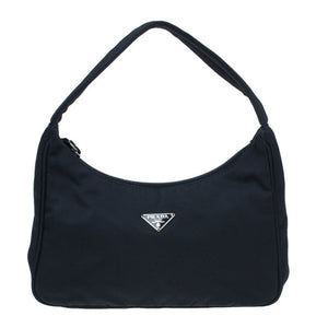 PRADA - MINI TESSUTO HOBO BAG