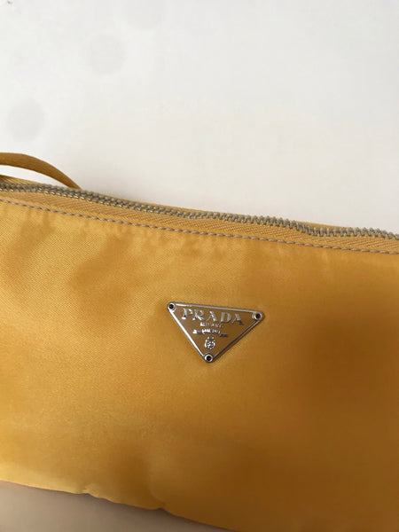 PRADA - MINI TESSUTO LIGHT ORANGE  BAGUETTE BAG
