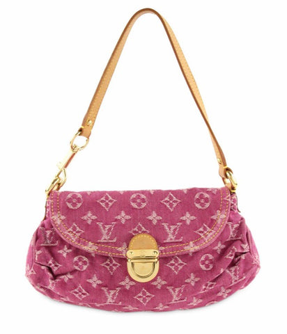LOUIS VUITTON - PINK DENIM MINI PLEATY BAG