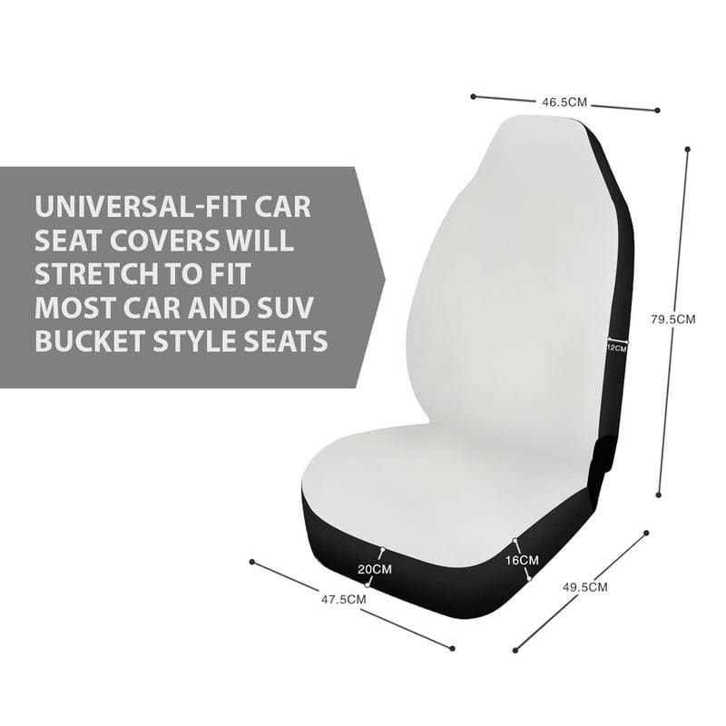 Scream Ghost Face Car Seat Covers LT02