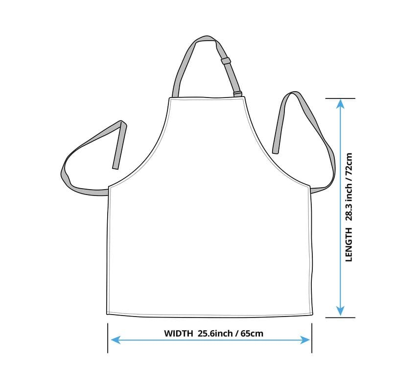 Full Logo Naruto Apron For Women LT04
