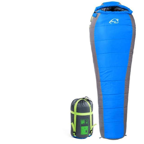 Uptown Vibez 1.8KG Blue New Cotton Camping Sleeping Bag