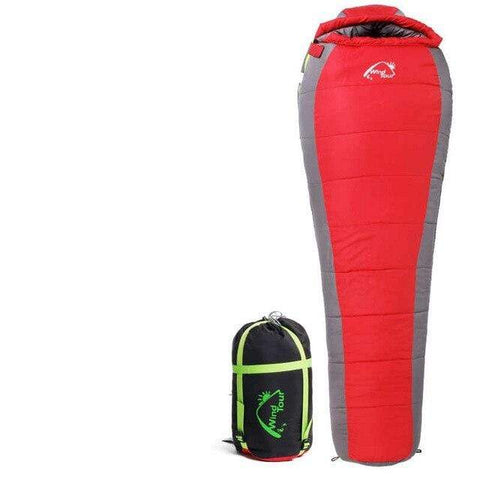 Uptown Vibez 1.8KG Red New Cotton Camping Sleeping Bag