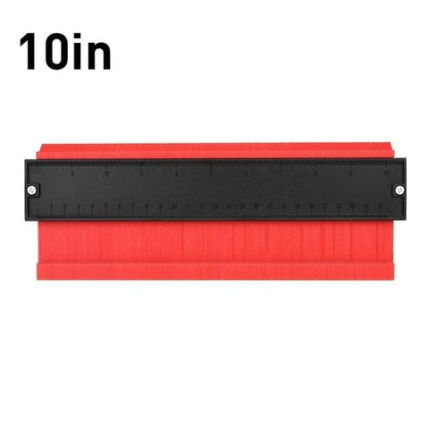 Uptown Vibez 10IN 25CM Red Contour Duplication Gauge