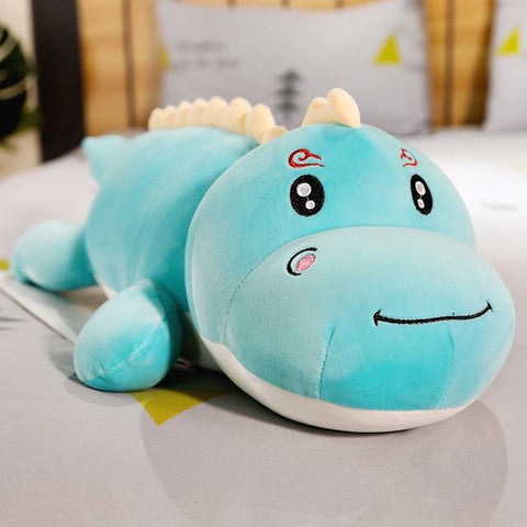Uptown Vibez 120cm / blue smile Dinosaur Plush Pillow