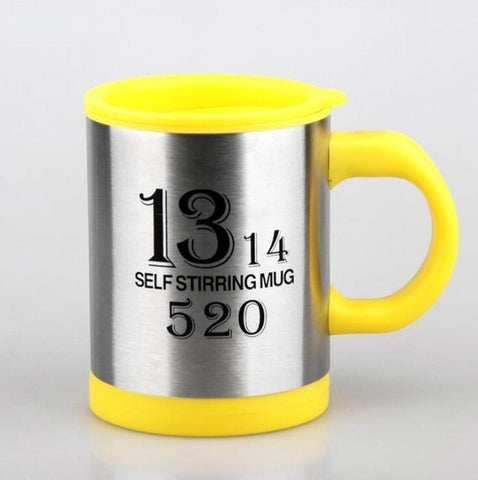 Uptown Vibez 1314 Yellow / 400ml Automatic Stirring Cup
