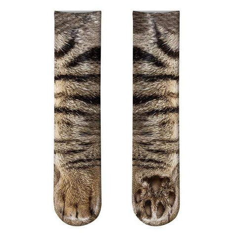 Uptown Vibez 15 Animal Paws Socks