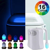 Uptown Vibez 16 colors / 2 PCS Motion Sensor Toilet Nightlight
