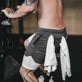 Uptown Vibez 2 In 1 Men Athletic Shorts