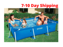 Uptown Vibez 220cm pool SWIMMING POOL - RECTANGULAR METAL STEEL FRAME