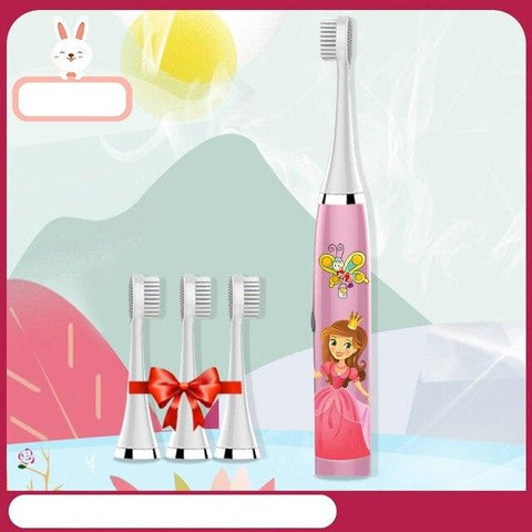 Uptown Vibez 4 Brush head 1 Kids Ultrasonic Toothbrush