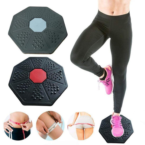 Uptown Vibez 40cm Universal Healthy Wobble Balance Board Stability Disc Yoga Sport Training Sports Exercises Wobble Board Fitness Board