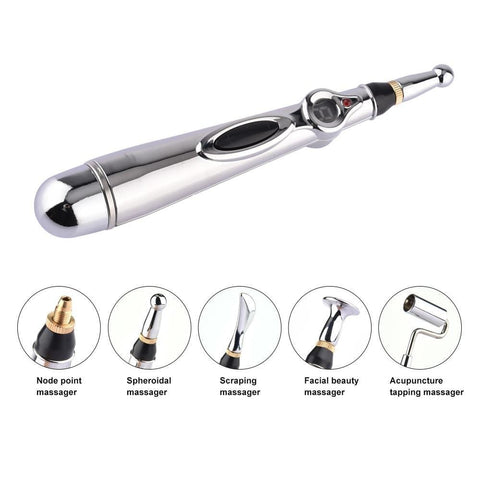 uptown vibez 5 heads with pacakge Electric Acupuncture Massage Pen