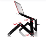Uptown Vibez Adjustable Aluminium Foldable Portable Laptop Tray
