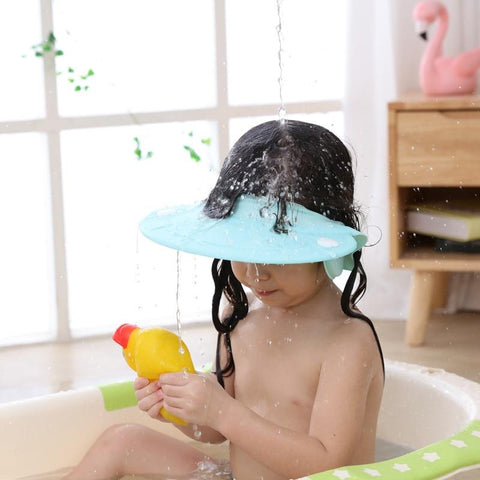 Uptown Vibez Adjustable Silicone Baby Shower Cap