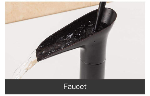 Uptown Vibez Antique Style Waterfall Faucet